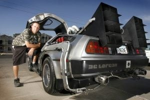'Back to the Future' DeLorean turns heads in QC