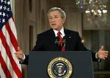 Bush shifts gears on benefit reform