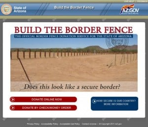 Border fence website