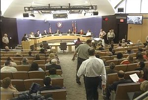 4 foes of Arpaio arrested at supervisors meeting