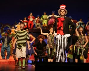 "<p>Members of Copperstar Repertory Company, an East Valley-based performance group seeking to build it's own rehearsal, production shop and office space, perform ""Seussical the Musical"" at the Higley Center for the Arts. (Photo courtesy Tim Pannell Photography/Copperstar Repertory)</p>"
