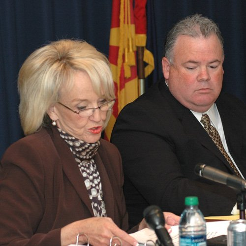 Jan Brewer, Don Cardon