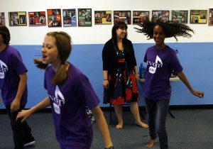 'Glee' inspires E.V. kids to sing, dance, act