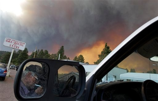 APTOPIX Arizona Wildfires