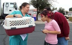 Pet clinic offers free spay, neuter service