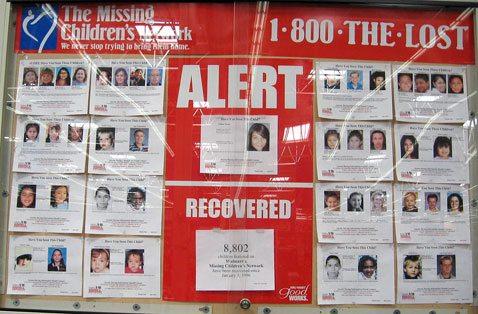 Missing children: Gone, but not forgotten