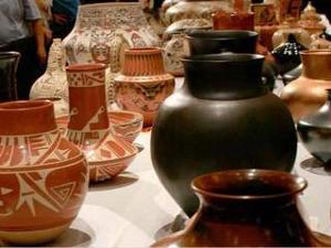 Stolen pottery