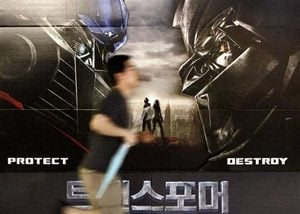 `Transformers' opens in South Korea