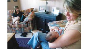 Doulas bring support to women giving birth