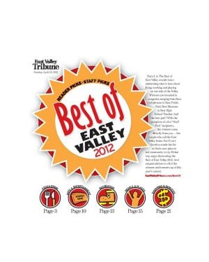 'Best of East Valley 2012'