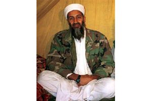 Bin Laden says U.S. waging a