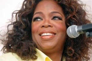 Fans queue to snag tickets to see Oprah, Olympians