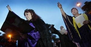 Pagan group goes public with solstice ritual