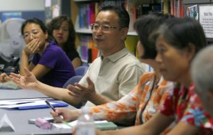 Library focuses on reading, writing, speaking