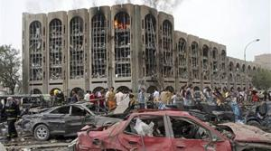 Bombings target government in Baghdad