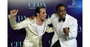 'P. Diddy,' Herrera win fashion awards