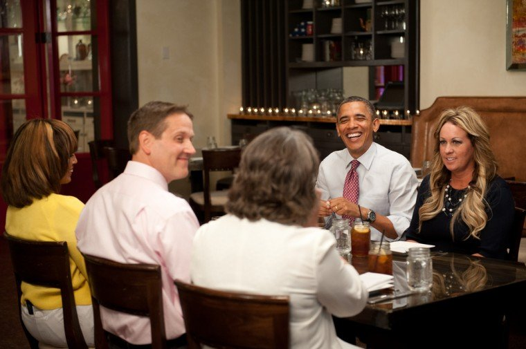'Lunch with Barack'