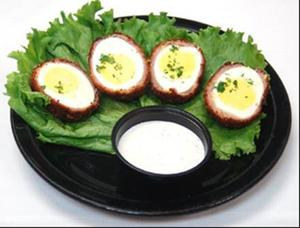 Tilted Kilt Scotch Eggs