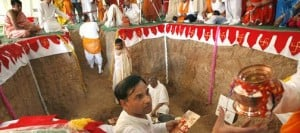 Valley Jain community breaks ground on spiritual center 