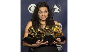 Newcomer Norah Jones sweeps Grammy awards