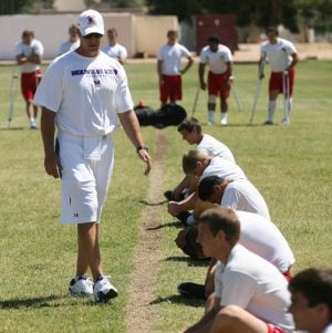 Cram session: 10 new football coaches try to integrate with spring football