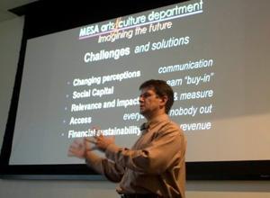 Director has big ideas to boost Mesa Arts Center