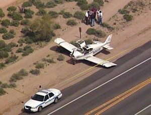 Plane makes emergency landing in Scottsdale