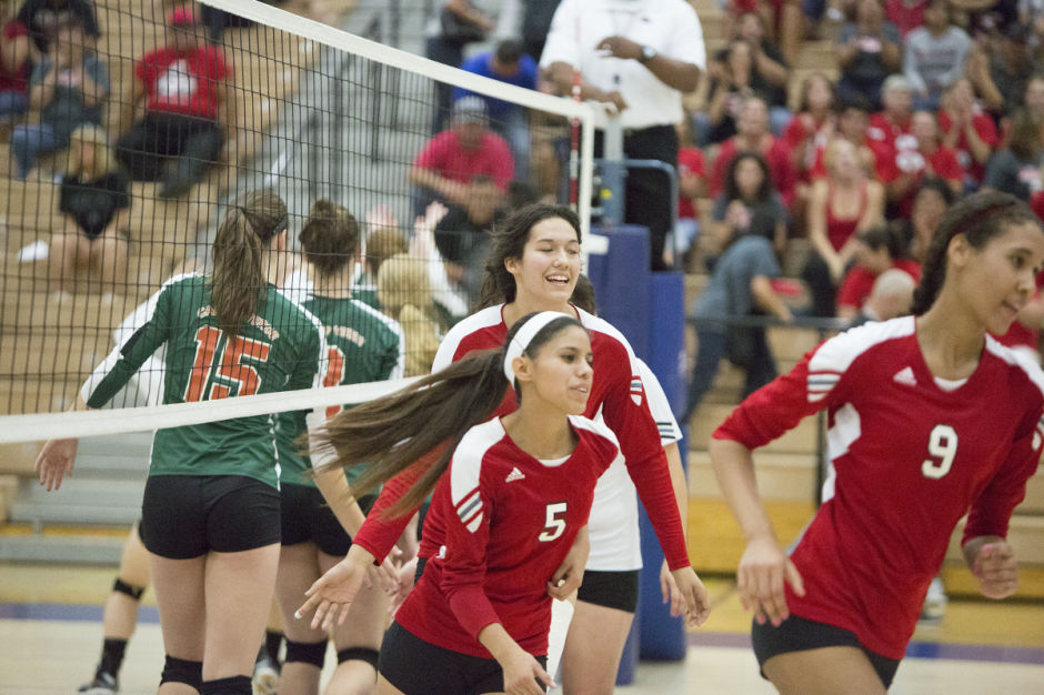 Tucson vs Campo Verde Volleyball 11/9/2013