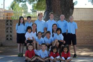 Christ the King Catholic School twins