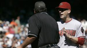Lincecum outduels Haren in D-Backs' loss