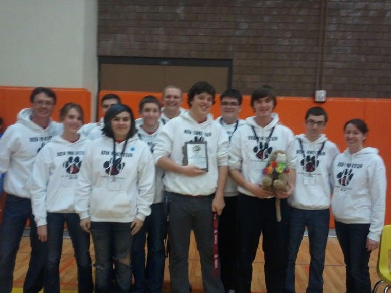 Red Mountain High School Academic Decathlon team