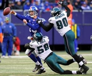 Giants, Eagles in grudge match 