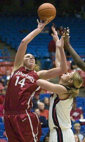 Pedersen making a splash at Stanford