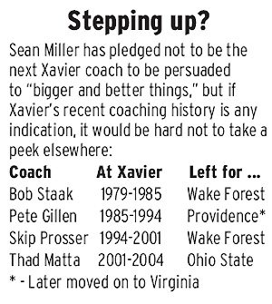 At Xavier, big doesn't mean better