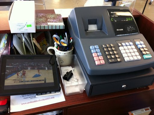 March Madness at work