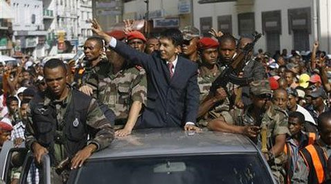 Army puts Madagascar opposition leader in charge