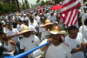 Thousands march for immigration reform in Phoenix