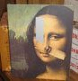 Cool find: Mona Lisa clock