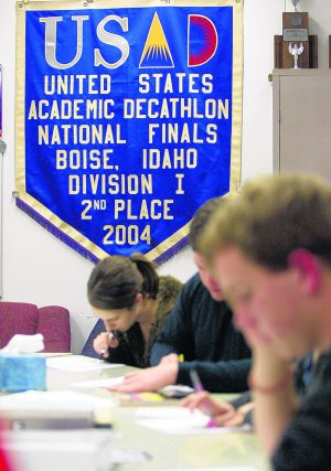 E.V. teams ready for state academic decathlon