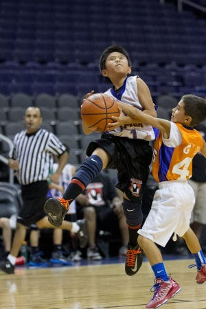 Brian Minson - YMCA Basketball Championships - US Airways Center August 12th, 2013