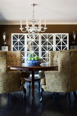 Invite a new dining-room table to dinner