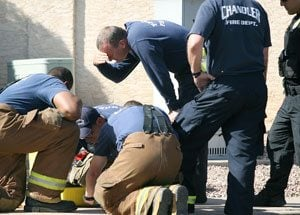 Police rush to blue powder scare in Ahwatukee