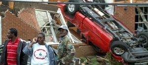 20 dead as tornadoes hit Ga., Ala., Mo.