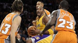 Kobe, Lakers stop Suns cold
