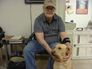Max, A Soldier's Best Friend