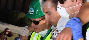 Response team drills at Higley 'disaster'