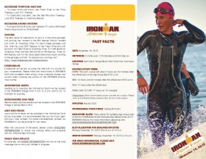 Ironman Arizona 2012 - Race Details / Road Restrictions