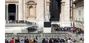 Thousands visit Pope John Paul II's tomb
