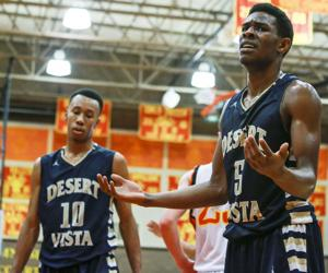 Basketball: Corona vs Desert Vista