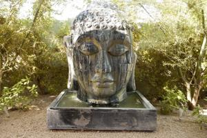 <p>A 1957 ranch in Sherwood Heights that houses art — including many Buddha heads — collected during the homeowner's visits to 48 countries is among the stops on this year's Friends of Mexican Art Home Tour and Mexican Mercado. [Friends of Mexican Art]</p><p></p>
